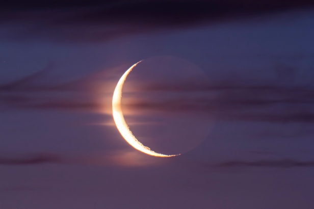 Waning Crescent Moon (June 16, 2012)